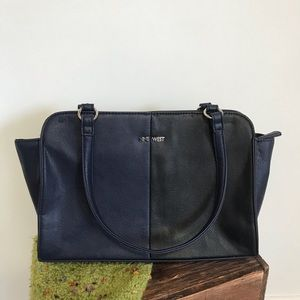 Nine West purse / bag blue and black